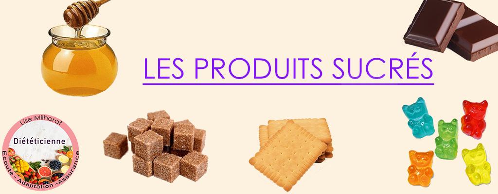 Produits sucrés