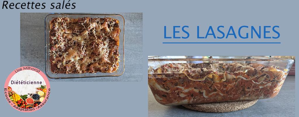Les lasagnes